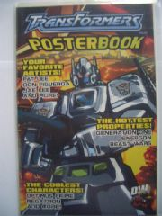 Transformers Poster Book Dreamwave Comics RARE